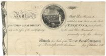 A Graphic, Early Stock Certificate Issued To Elias Boudinot - Tenth President of Continental Congress Serving in That Role When The Treaty of Paris Was Signed Ending The War With Great Britain!