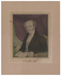 Kellog Hand Colored Print Of Martin Van Buren