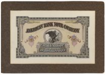 An Extraordinary American Bank Note Company Presentation