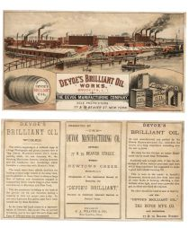 Devoe's Brilliant Oil Works, Brooklyn