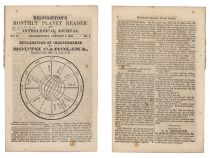 "Boughton's Monthly Planet Reader And Astrological Journal: ""The Fate Of The Nation For The Winter Quarter Of 1861"""