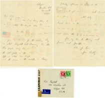 WW II Illustrated Letter