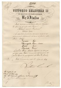 King Victor Emanuel E Of Italy Signs A Document