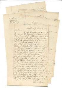Wadsworth A. Ward Applies To Be A Naval Surgeon For The Union During The Civil War