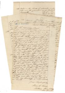 Marcus R. Vedder Applies To Be A Naval Surgeon For The Union During The Civil War