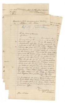 W.B. Pierce Applies To Be A Naval Surgeon For The Union During The Civil War