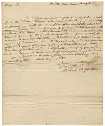 Revolutionary War Soldier's Payment Note Benjamin Butler