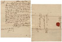 1771 Letter Written and Signed: Munro, Harry