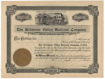 The Arkansas Valley Railroad Company
