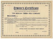 The Mexican Timber Field Company