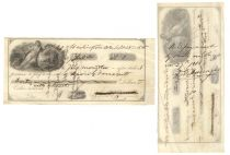 Promissory Note Endorsed by Admiral David Farragut