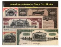 American Automotive Stock Certificates