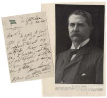 Henry White ALS on Holland-America Line Stationary