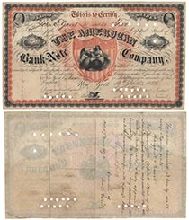 American Bank Note Co.  Type I