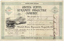 United States Dynamite Projectile Co.