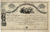 New Orleans & Ohio Telegraph Co. shares