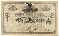 Electric Reporting Co.