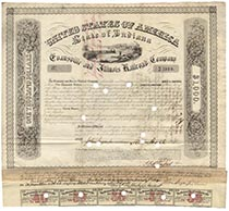 Evansville & Illinois RR Co.  bond