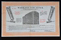 Wrigley Tooth Paste Co. LTD warrant