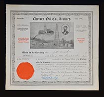 Christy Oil Co. Limited