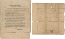 General Post Office Circular signed twice by John McLean