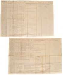Muster Roll For Black Soldiers Serving In April 1865 Who Marched To  Appomattox Court House During The Surrender Of Robert E. Lee