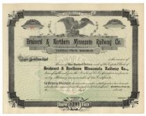 Brainerd And Northern Minnesota Railway Company
