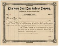 Clearwater Short Line Railway Company