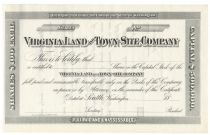 Virginia Land And Town-site Company