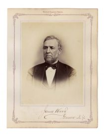 Senator James Wood Signed Photo
