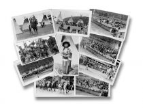 Superb Collection Of Real Photo Indian Postcards