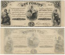 Ket Forint Obsolete Note