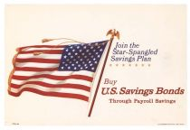 1964 U.S. Savings Bond Poster