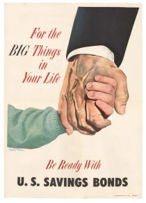 1955 U.S Savings Bonds Poster