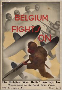 Belgian War Relief Society Poster