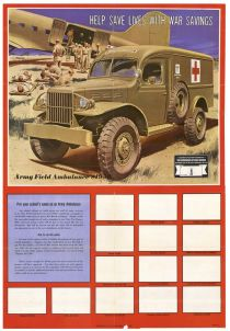 Army Field Ambulance School Fund Poster