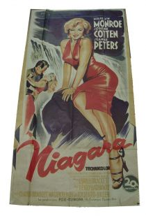 French Language Poster For Niagara