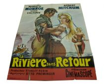 French Language Poster For River Of No Return