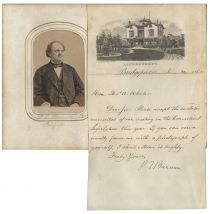 Superb Album of CDV's of The Connecticut State Legislature Including P.T. Barnum