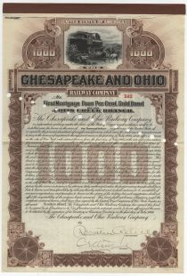 Chesapeake And Ohio Railway Company