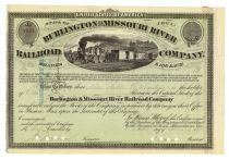 Burlington & Missouri River Railroad Company