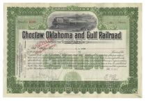 Choctaw, Oklahoma & Gulf Railroad Co.