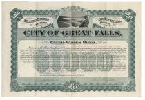 City Of Great Falls, Water-Works Bond