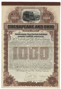 Chespeake & Ohio Railway Company