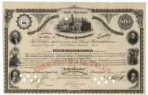 1876, Loan To The City Of Philadelphia Bond