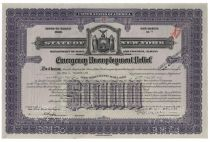 New York Bond Issued To Alfred G.Vanderbilt