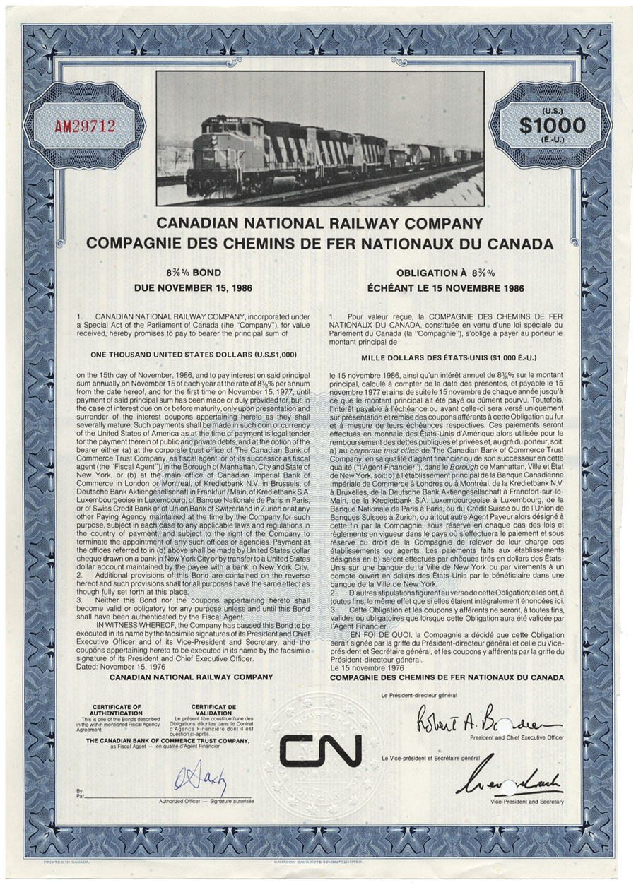 Canadian National Rail Company