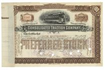 Consolidated Traction Co. Issued To W. L. Elkins