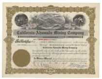 California-ahumada Mining Co.