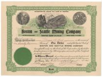 Boston And Seattle Mining Co.